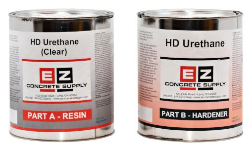 EZ HD URETHANE CLEAR (1 gallon kit) GLOSSY/MATTE