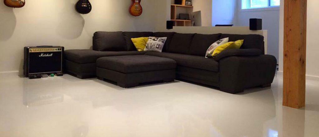Solid Color Epoxy Flooring