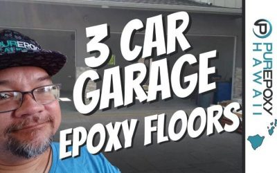 How To Epoxy A 3 Car Garage
