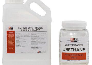 EZ Water-Based URETHANE GLOSS/MATTE (1 gallon kit)